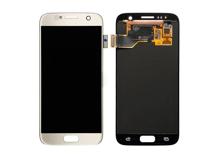 Capacitive Touch Screen Samsung S7 Lcd Display For Repair Faulty Screen